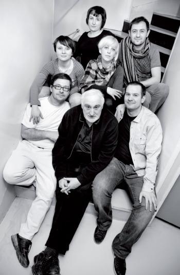 Ivana Bajsić s kolegama iz Idea akademije: Amirom Bečirevićem, Vladimirom Vukobratom, Boštjanom Jagrinecom, Jasnom Koščak, Gordanom Musolin i Petrom Grdovićem.