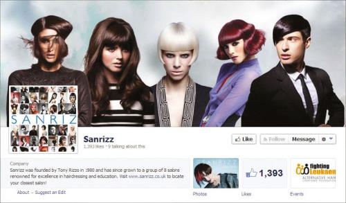 Naslovna slika profila na Facebooku