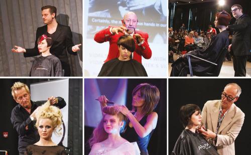 Na ovogodišnjem Hairstyle Newsu nastupile su respektabilne svjetske frizerske zvijezde: Jean-Baptiste Mazella, John Santilli, Dove Palmer, Eric Bachelet, Laetitia Guenaou i Richard Thompson