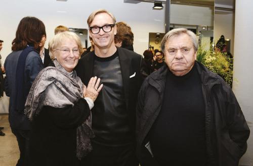 Mitja Sojer sa roditeljima
