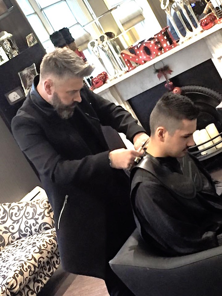 Barbering in the salon copy