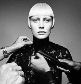 AKIN KONIZI <br> British Hairdressing Awards 2015