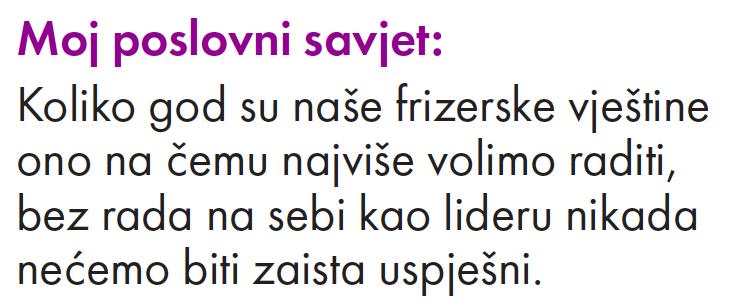 Aleksandra Oparov - poslovni savjet