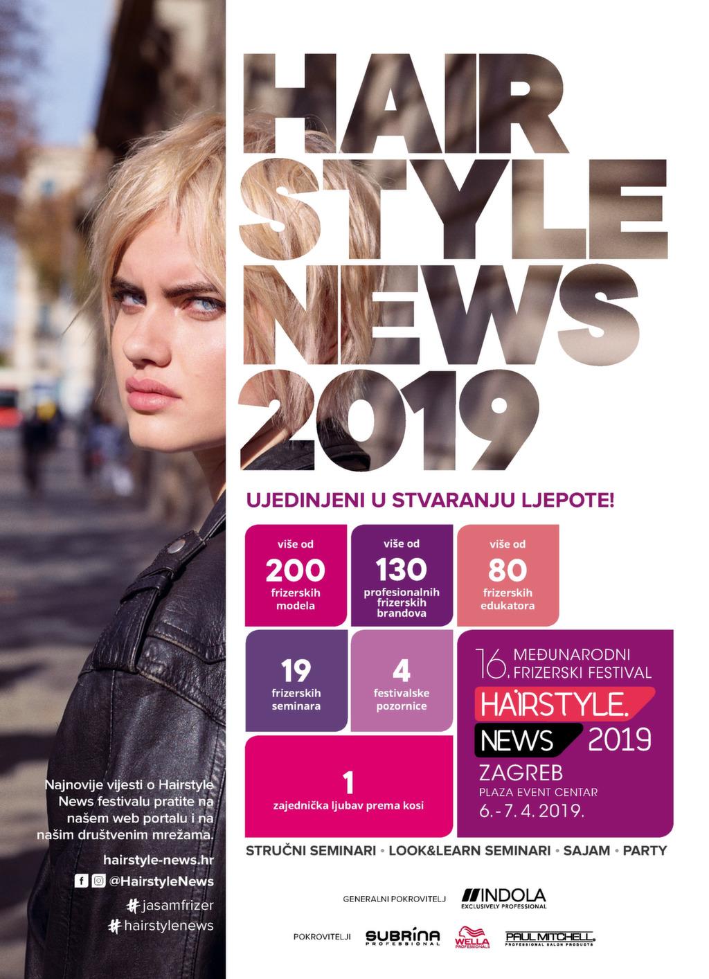 PROGRAM 17. HAIRSTYLE NEWS FESTIVALA – Hairstyle News Festival