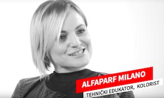 Marijana Habek Alfaparf Milano
