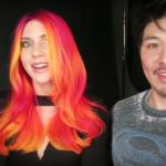 GUY TANG <br> 2017. je godina fluorescentnih boja za kosu