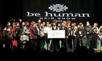 BE HUMAN Hair Show