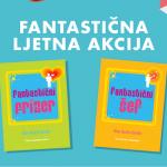 Ulovite ekskluzivnu ljetnu akciju na poslovne knjige za frizere Fantastični frizer i Fantastični šef!