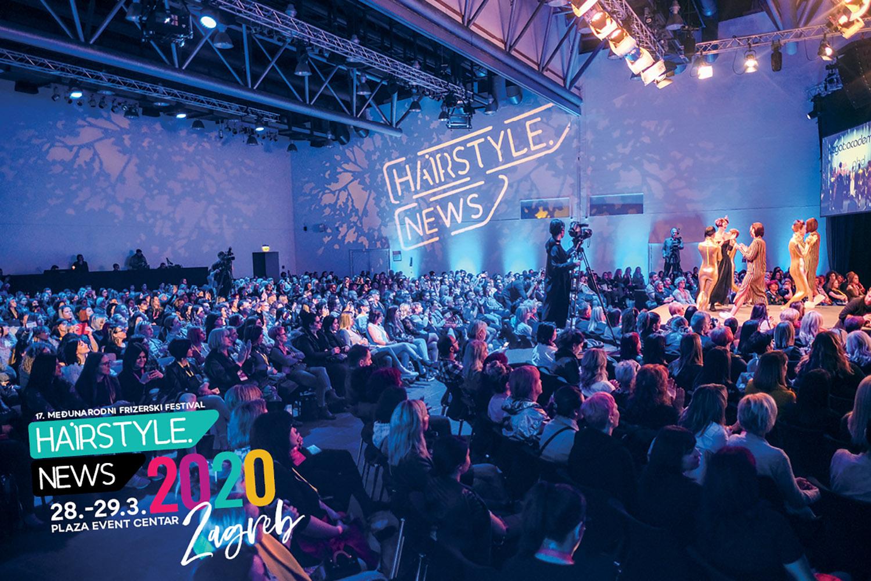 Velika pozornica frizerskog festivala Hairstyle News