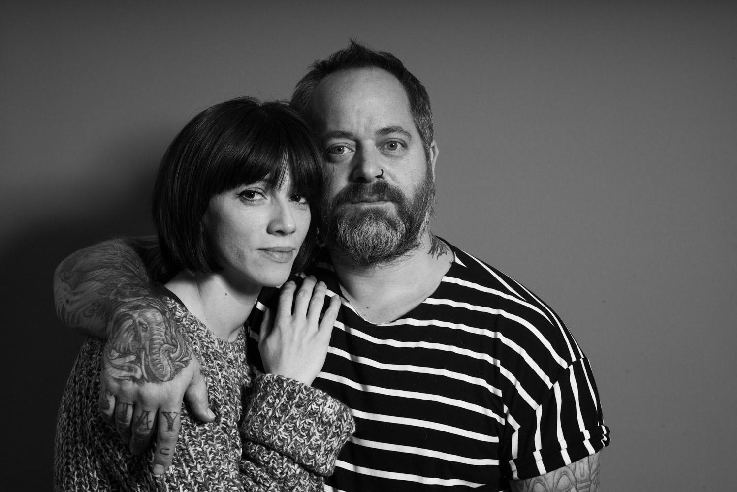 Matthew i Marijana Jastrzemski, vlasnici frizerskog salona Oblik