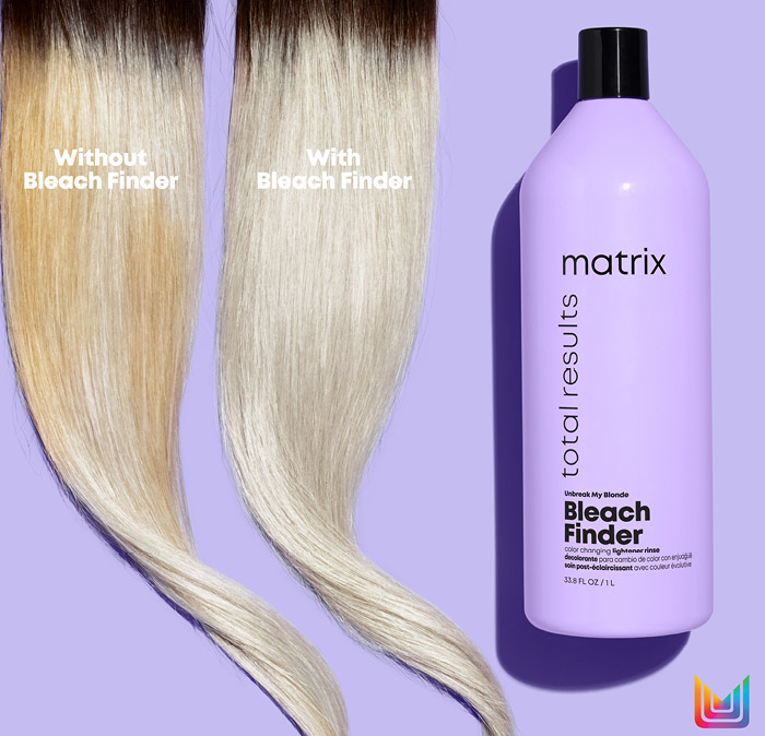 Strong Blond webinar - Matrix Bleach Finder bočica