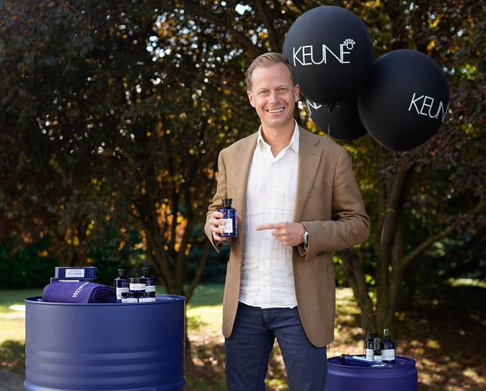 Eelco Keune, glavni izvršni direktor Keune Haircosmetics